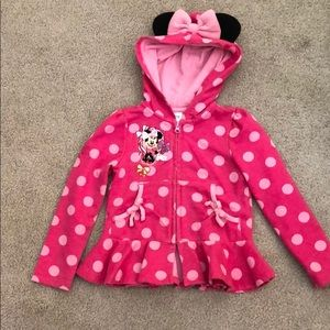 Minnie Mouse size 4 hoodie